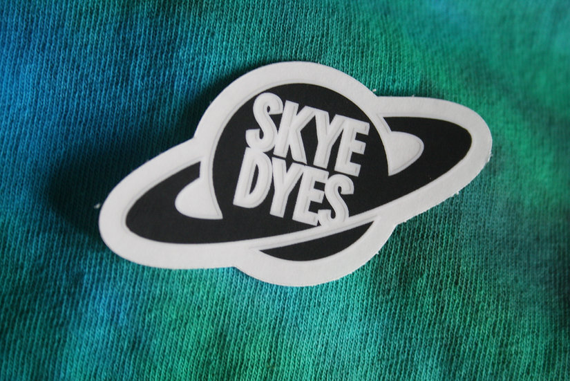 Pack of 10 Skye Dyes Window Stickers