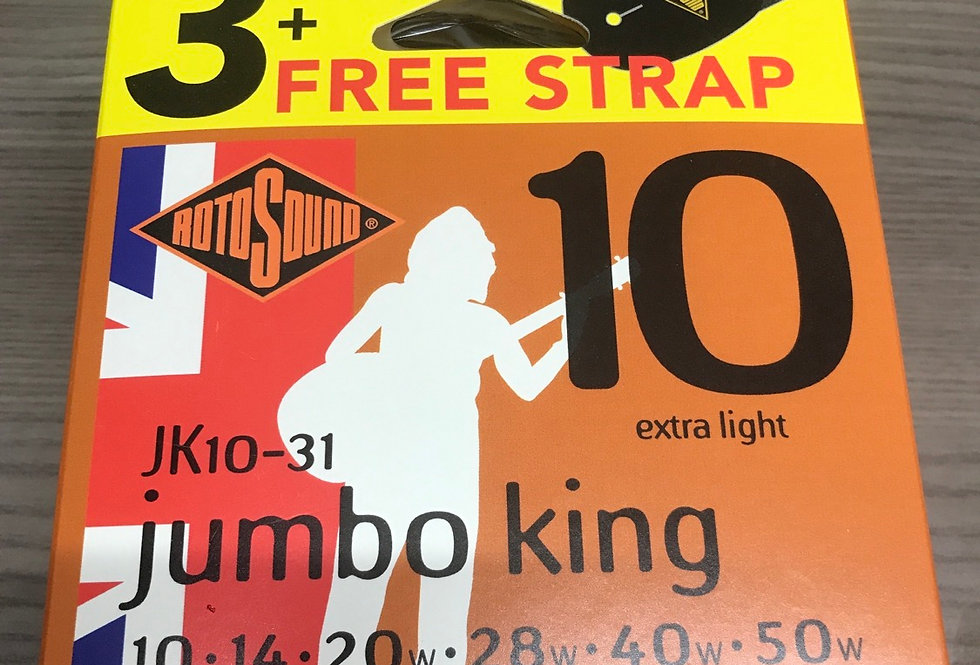 3 sets Jumbo King 10s plus free stap
