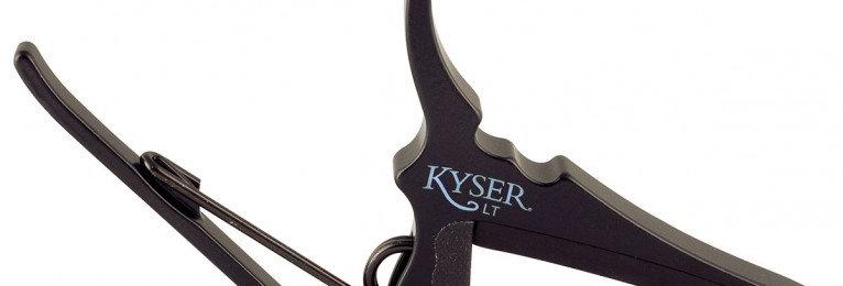 KYSER CAPO LOW-TENSION ACOUSTIC MATT BLACK