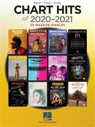 CHART HITS OF 2020-2021 : PIANO, VOCAL AND GUITAR