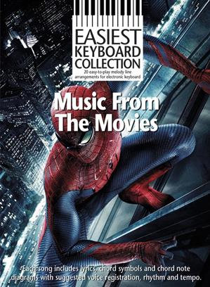 EASIEST KEYBOARD COLLECTION: MUSIC FROM THE MOVIES: ELECTRIC KEYBOARD