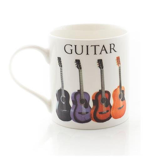 Music Word Mug - Acoustic Guitar