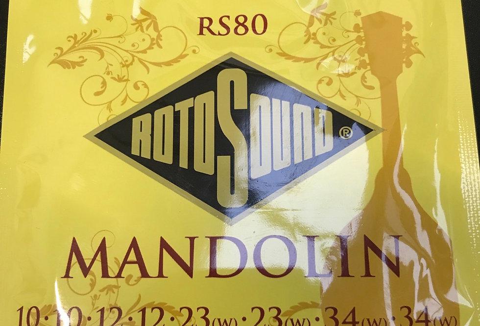 Mandolin string set 10s