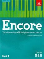 KAREN MARSHALL: ENCORE - BOOK 3 (GRADES 5 & 6): PIANO
