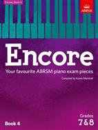 KAREN MARSHALL: ENCORE - BOOK 4 (GRADES 7 & 8): PIANO