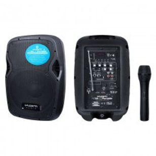 """KAM PORTABLE 8"""" SPEAKER WITH BLUETOOTH ~ 50W"""