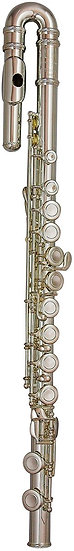 TREVOR JAMES 10X FLUTE OUTFIT - CURVED & STRAIGHT HEADS. CS 925 SILVER LIP PLATE