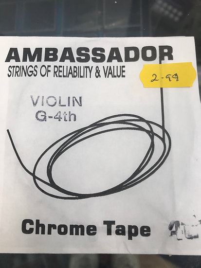 Ambassador G string violin