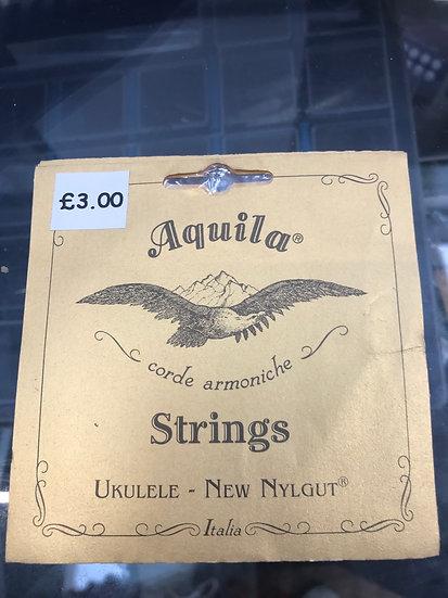 Aquila low G string soprano ukulele