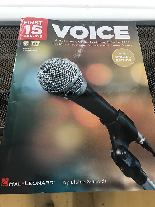 First 15 lessons voice