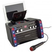 EASY KARAOKE BLUETOOTH SYSTEM WITH LED LIGHT EFFECTS
