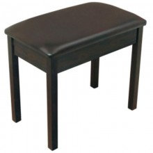 ON-STAGE KEYBOARD / PIANO BENCH - ROSEWOOD FINISH