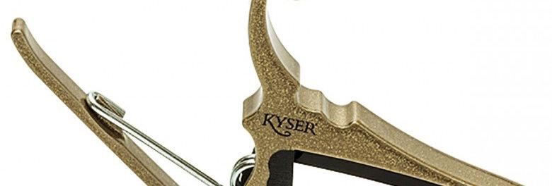 KYSER CAPO ACOUSTIC GOLD
