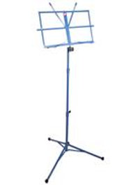 PURE TONE: MUSIC STAND WITH CASE BLUE