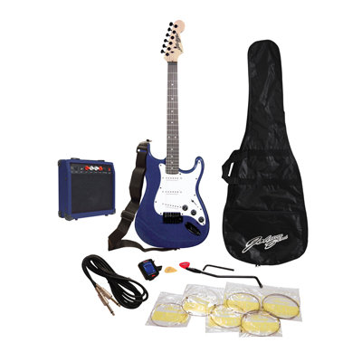 Johnny Brook Standard Guitar Kit with 20W Colour Coded Combo Amplifier
