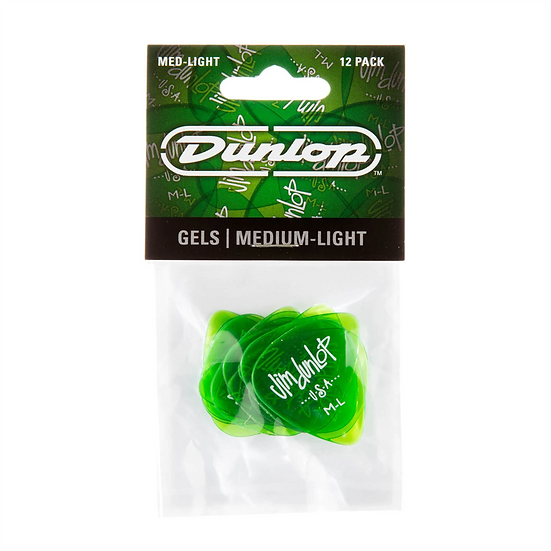 JD GELS MEDIUM LIGHT GREEN PL PK OF 12