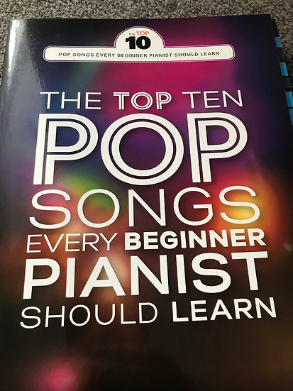 Top 10 pop songs every beginner should learn  Piano