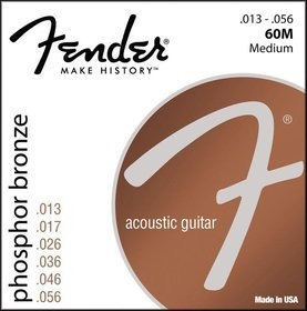Fender Phosphor Bronze 13s