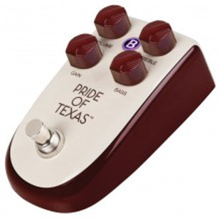 BILLIONAIRE 'PRIDE OF TEXAS' OVERDRIVE PEDAL BY DANELECTRO