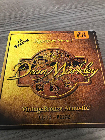 Dean Markley 12 string set