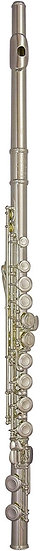 TREVOR JAMES 10X FLUTE OUTFIT - CS 925 SILVER LIP PLATE AND RISER