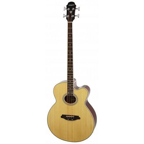 Aria FEB 30M Electro Acoustic Bass Natural