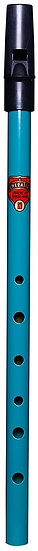 AURORA PENNY WHISTLE - BLUE TEAL