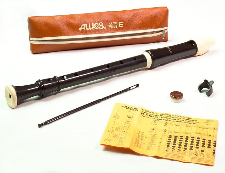 AULOS RECORDER TREBLE 209B ROBIN
