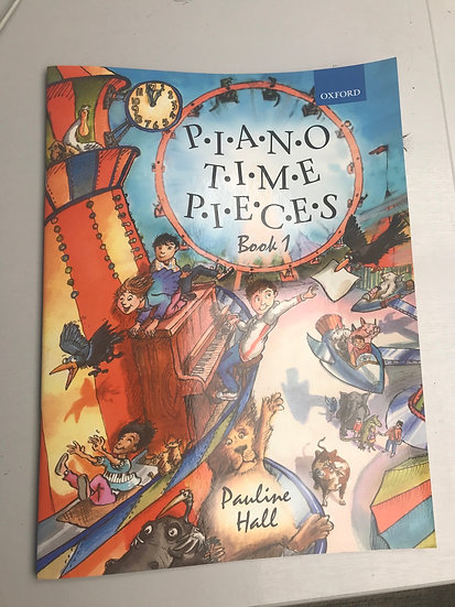 PIANO TIME PIECES BOOK 1