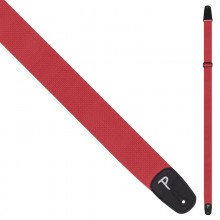 PERRI'S POLYESTER PRO GUITAR STRAP ~ Red