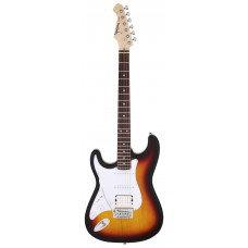 ARIA STG 004 L/H 3 Tone Sunburst