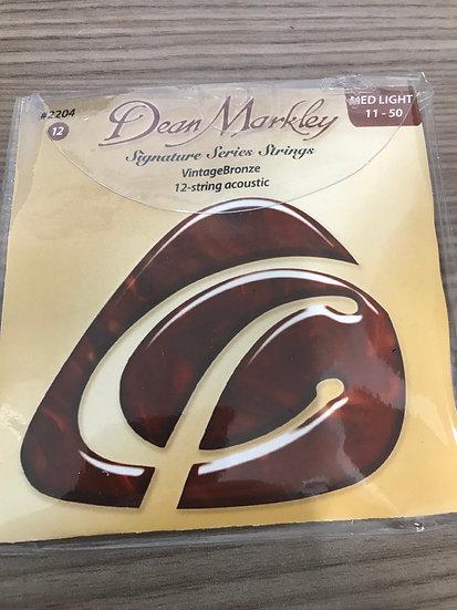 Dean Markley 12 string set