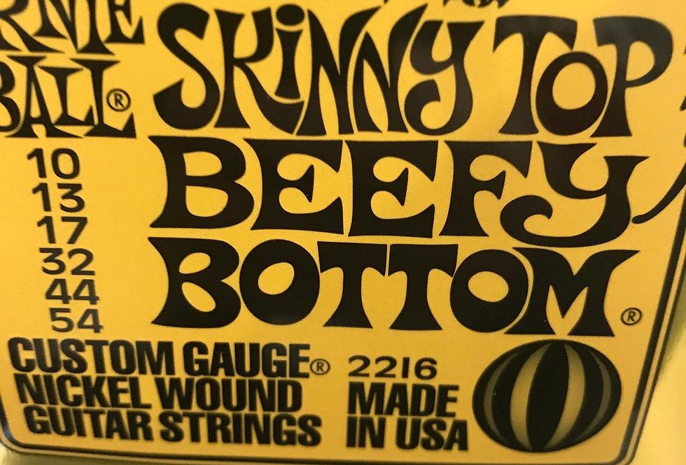 Skinny top beefy bottom