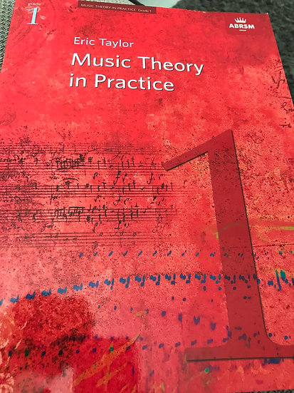 Music theory in practice 1