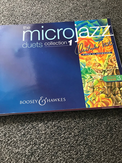 Microjazz  duets 1 level 3