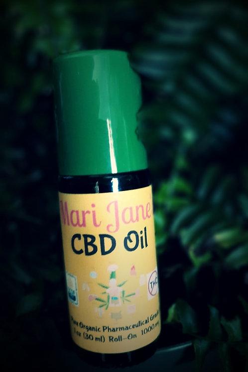 CBD Oil  1oz  Roll-On