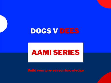 AAMI Series: Dogs V Dees Report