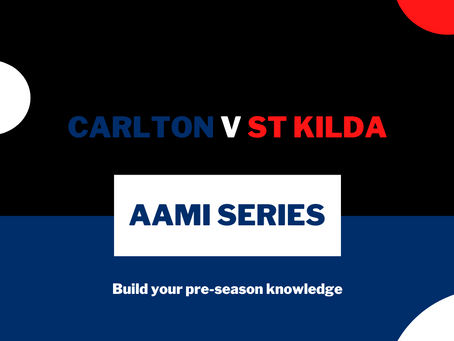 AAMI Series: Carlton V St Kilda Report