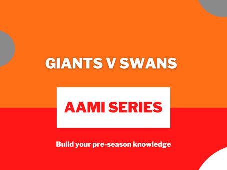AAMI Series: Giants V Swans Report