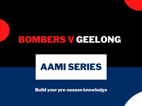 AAMI Series: Essendon V Geelong