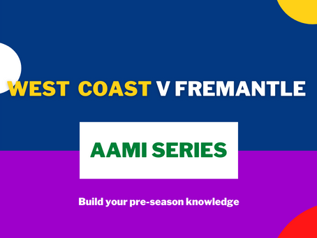 AAMI Series: West Coast V Freo Report