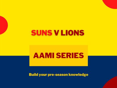 AAMI Series: Gold Coast V Lions Report