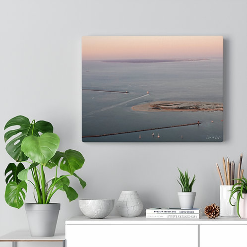 "Canvas Gallery Wrap ""The Point at Sunset"""