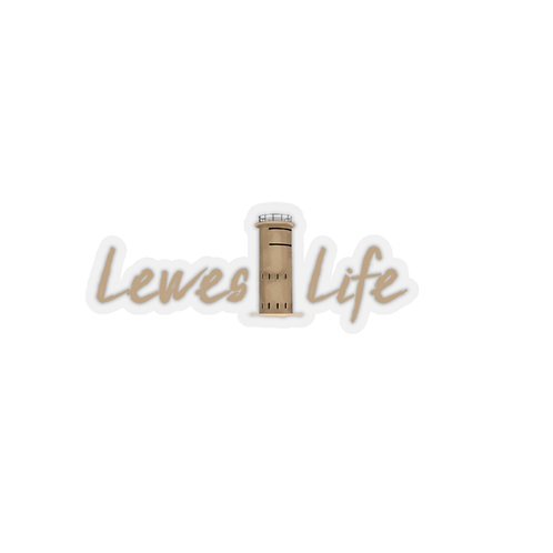 Lewes Life Sticker