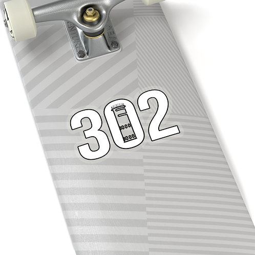 302 Tower Car Sticker