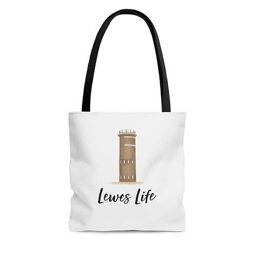 Lewes Life Tote Bag (Tower)