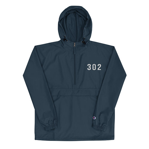 302 Embroidered Champion Packable Jacket