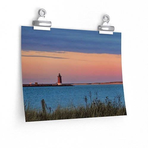Premium Matte Print (Sunset from the Fishing Pier)