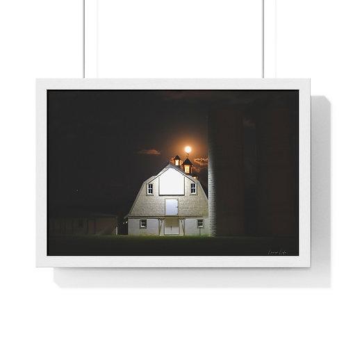 """Premium Framed Photo """"Harvest Moon"""""""