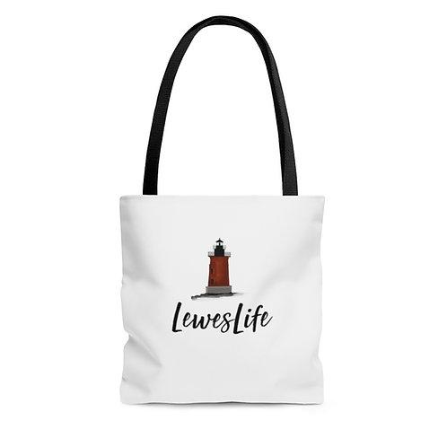 Lewes Life Tote Bag (Lighthouse)